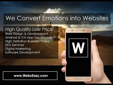 Domain+Hosting+Website Design+SEO+Business Video+Digital Marketing+Software   WebsEazy.com