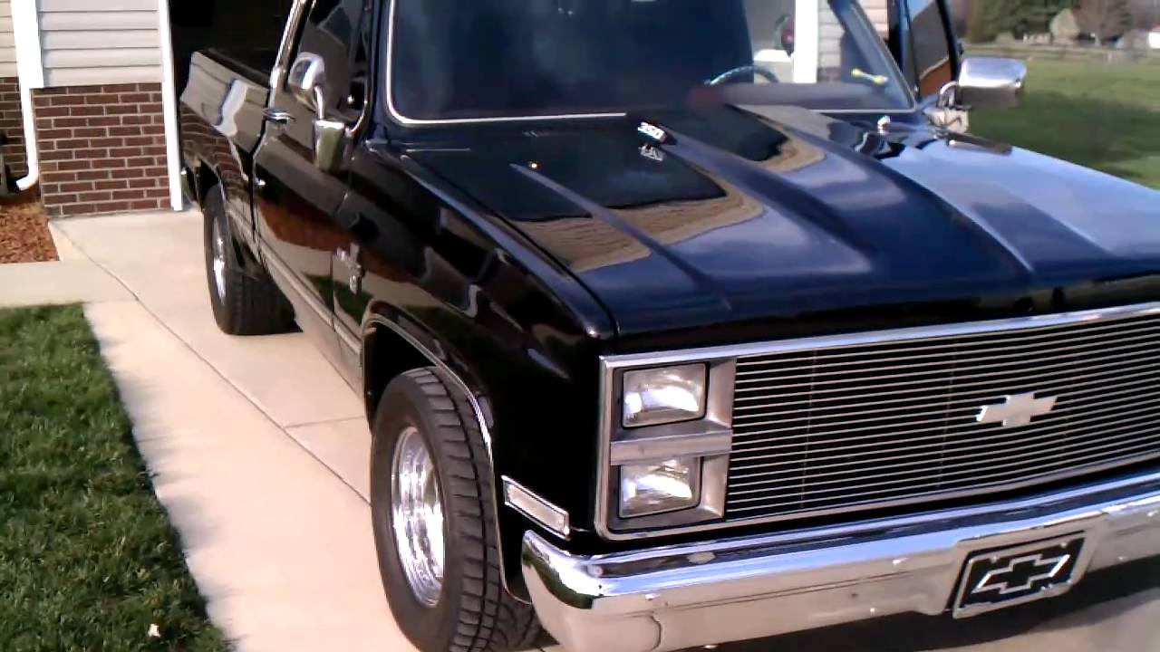 '84 Chevy Silverado 383 Stroker - YouTube