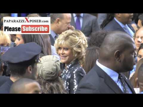 Jane Fonda arrives to The Butler Premiere in New York