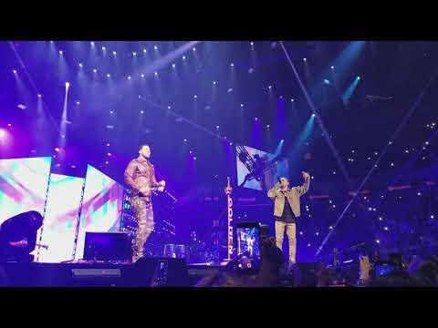 Romeo Santos Ft. Ozuna - EL FARSANTE Y SOBREDOSIS Live at Madison Square Garden 2018 HD ORIGINAL