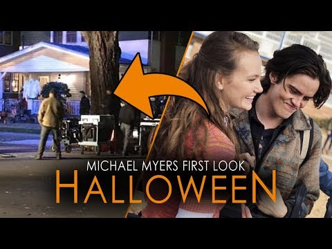 First Image of Michael Myers on Set of Halloween (2018) AND MORE!!