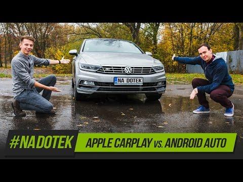 Na Dotek - Apple CarPlay VS. Android Auto + recenze Yoga Book