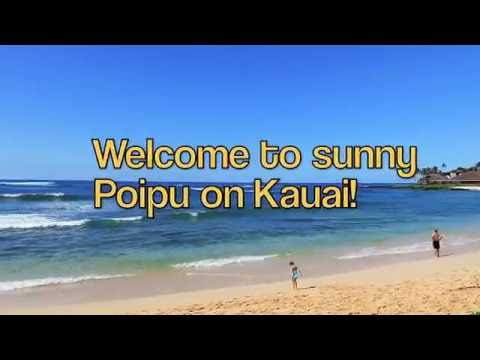 Gorgeous Kauai 3BR Top Floor Oceanfront Vacation Rental at Poipu Shores Resort