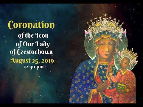 Coronation of the icon of Our Lady of Czestochowa