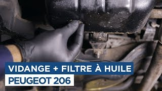 Comment faire la vidange - Peugeot 206 1.4Hdi