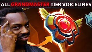 ALL NEW Heros LVL 30 Grandmaster Tier Voicelines - Dota Plus Update - Winter 2020