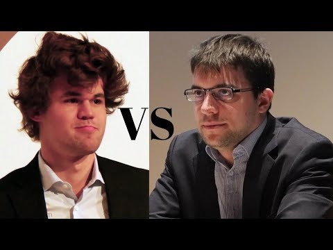Mega-exciting Chess Game: Magnus Carlsen vs Maxime Vachier-Lagrave Sinquefield Cup (2017)