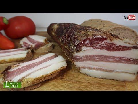 Como Hacer SUPER Panceta Artesanal. Bacon Italiano