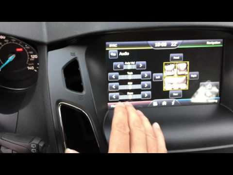 2015, 2016 Focus Navigation Upgrade, 4.2'' To HD 8'', Keep Factory Radio And Functions