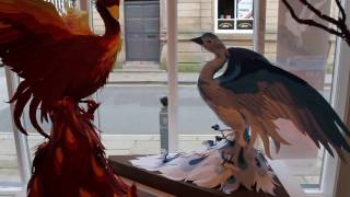 Aves. An Exhibition of Paper-cut and Kinetic Sculpture by Lucy Jean Green. 2016.