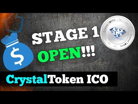 Crystal Token - Crystaltoken Ico Review! | CYL tokens | cryptocurrency strategy 2018