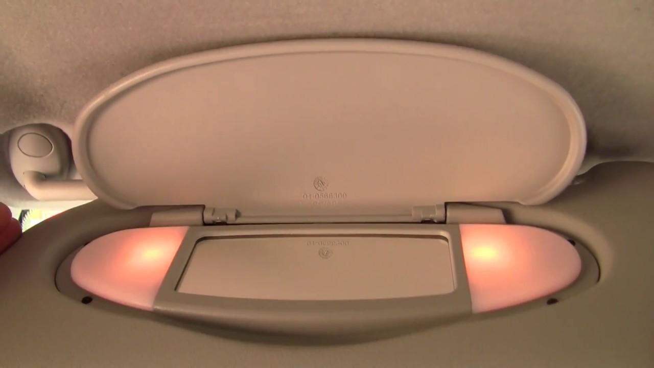 Mini Cooper Sun Visor Oem R56 R55 R57 R58 R59