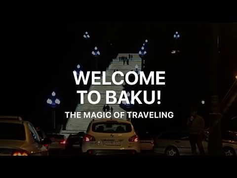 Welcome to Azerbaijan - riding a taxi in Baku for the first time