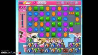 Candy Crush Level 1549 w/audio tips, hints, tricks