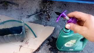 замена масла коробки ваз без шприца новый метод
