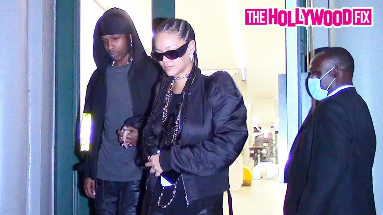 Rihanna & ASAP Rocky Peep Some Fresh New Drip Together At Rick Owens In New York City 9.17.21