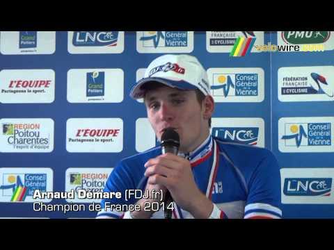 Championnats de France de cyclisme sur route 2014