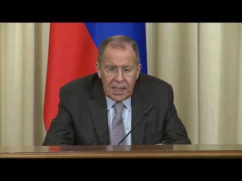 Пресс-конференция С.Лаврова и М.Амон-Тано, Москва, 17 июля 2019 года