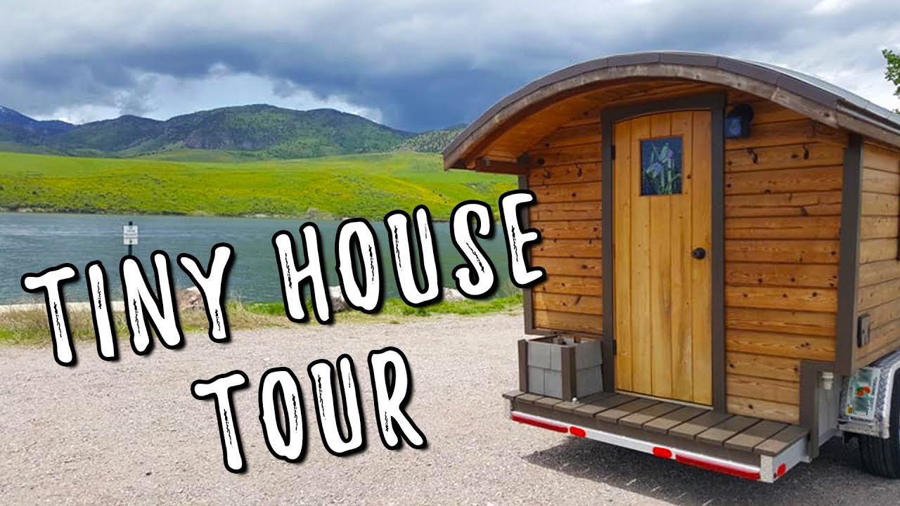 Stunning Dream Tiny House Gypsy Wagon Tour Youtube
