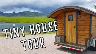 Stunning! Dream Tiny House Gypsy Wagon Tour