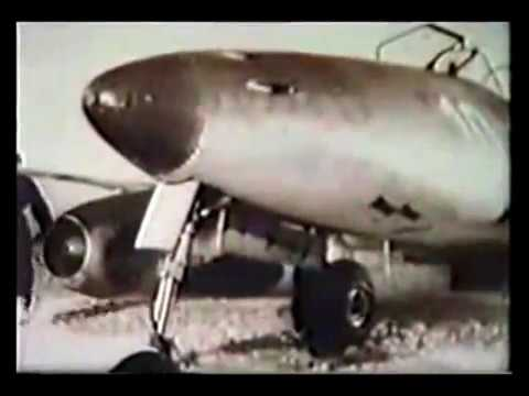 Luftwaffe training film - Flying the Me 262 jet