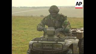 UK: ELITE PARACHUTE REGIMENT TEST NEW QUAD BIKES