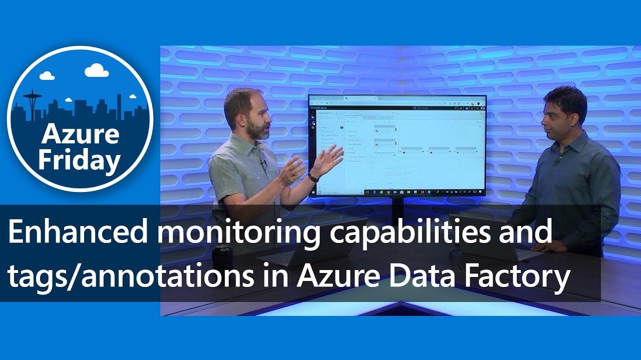 Azure Data Factory: Verbesserungen im Bereich Monitoring