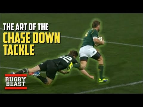 The Art Of The Chase Down Tackle
