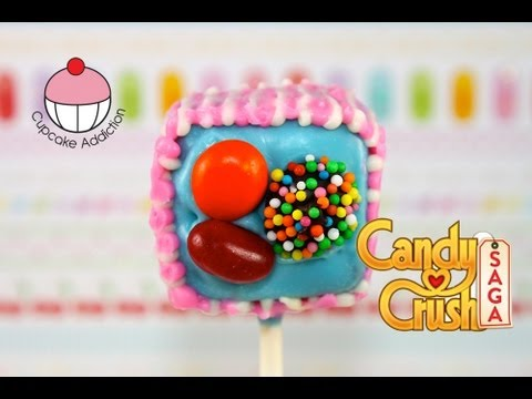 Make Candy Crush Cake Pops - WARNING - HIGHLY ADDICTIVE!! A Cupcake Addiction How To Tutorial