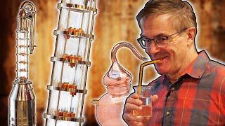 Distilling ALCOHOL With Oขr New Reflux Still!