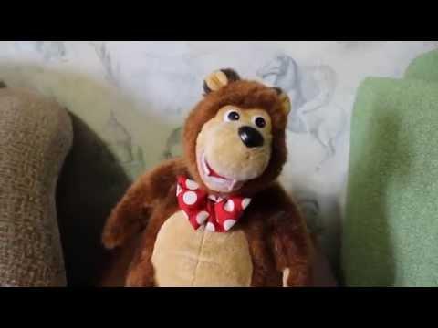 Игрушка медведь рассказывает сказки