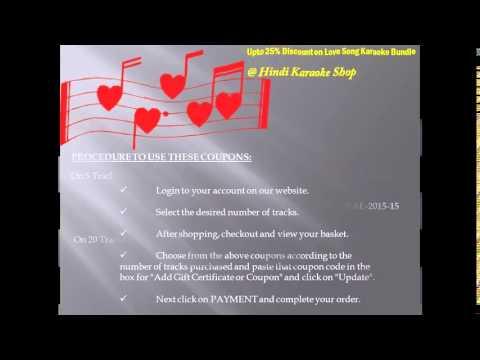 This Valentine Shop Karaoke Songs & Get Upto 25% Discount