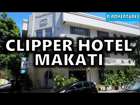 Makati Manila: Clipper Hotel & Pickpockets, Philippines S3, Vlog #6