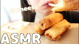 【ASMR 】サクサク✨モッツァレラチーズトーストを食べる🧀💕No Talking・mukbang・eating sounds🎶fried mozzarella cheese toast🍞🧀