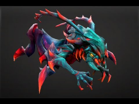 dota 2 store ember tipped carapace set weaver youtube