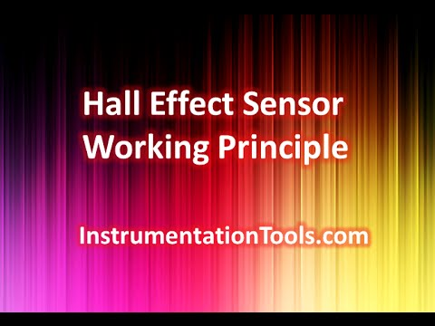 Hall Effect Sensor Working Principle