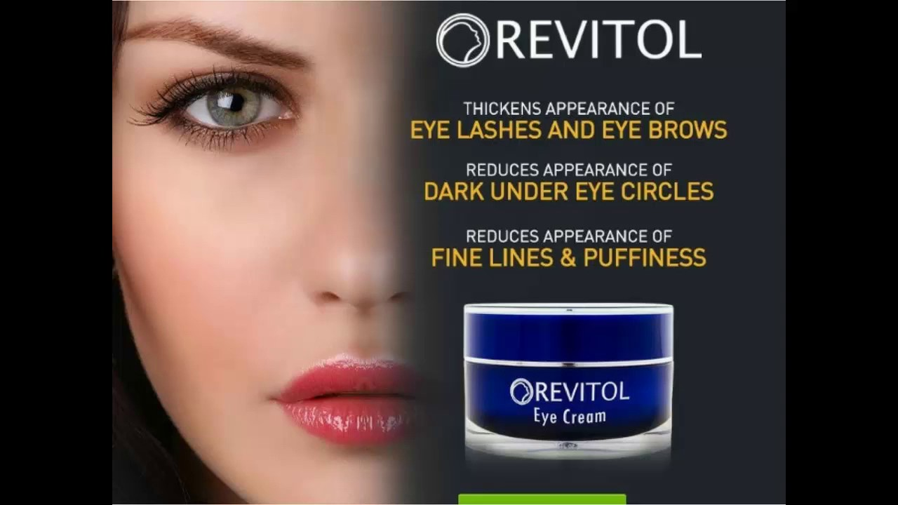 Revitol Eye Cream Best Treatment For Dark Circles And More