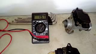 Testando sensor IAT ( sensor de temperatura de ar admitido no coletor de admissão) com multímetro
