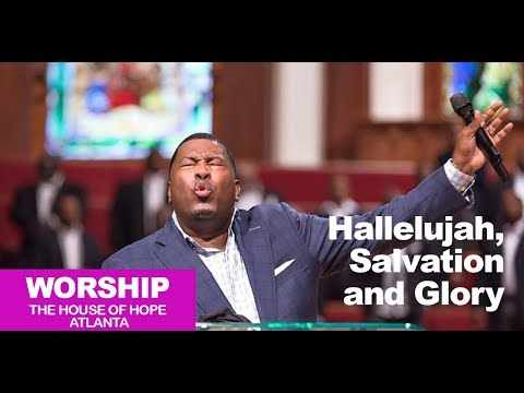 Dr. E.Dewey Smith singing Hallelujah, Salvation and Glory