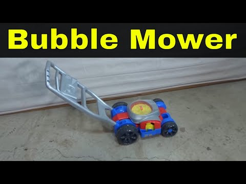 Fisher Price Bubble Mower Review-Children's Toy That Makes Bubbles