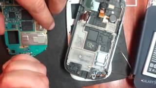 Ремонт Samsung GALAXY S III mini замена микрофона в Киеве