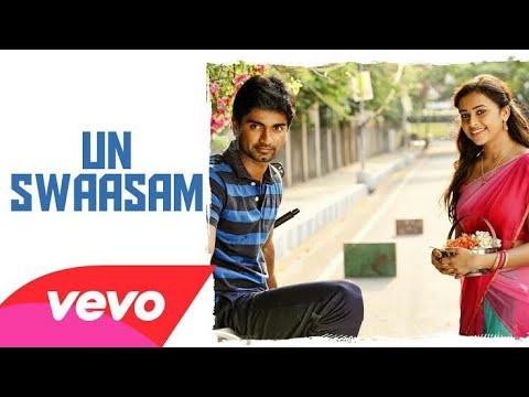 Eetti - Un swaasam enmithu song | Cute scene | all time favorite | Aatharva 😘 | Sri divya| Rhythm |