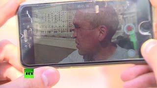 Московский бомж ведет популярный видеоблог о жизни на улице(, 2015-06-30T13:48:23.000Z)