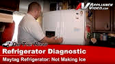 Refrigerator Icemaker Motor Module (part #8201515) - How To Replace