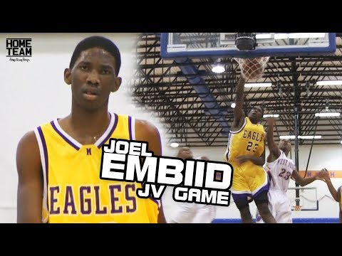 Joel Embiid Playing JV!? Was Just Unfair.. Game Highlights [Home Team Vault]
