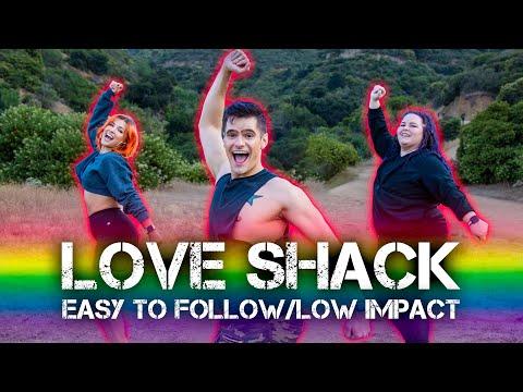 Love Shack - EASY LOW IMPACT CARDIO | Caleb Marshall | Dance Workout