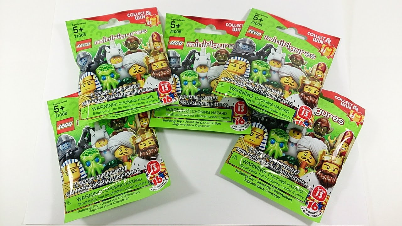 Lego Minifigures Series 13 Blind Bag Opening Codes
