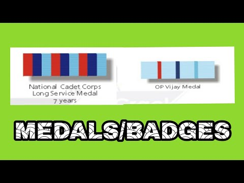 INDIAN DEFENSE BADGES | ACHIEVEMENT | RAHUL MEHTA