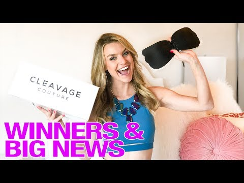 Instagram Cleavage Bra Giveaway & Big News