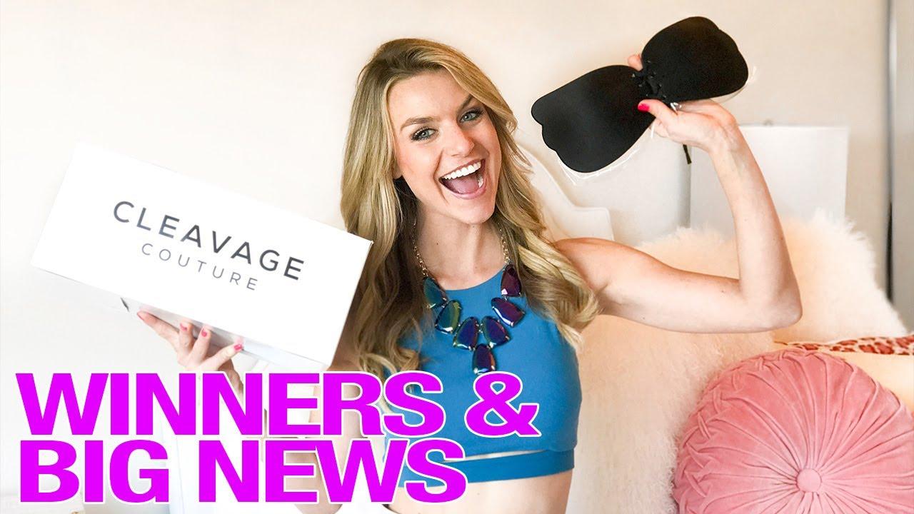 6e2da9cd27 Instagram Cleavage Bra Giveaway   Big News - YouTube